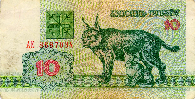 История белорусских денег, или Сколько белочек в Несвижском дворце